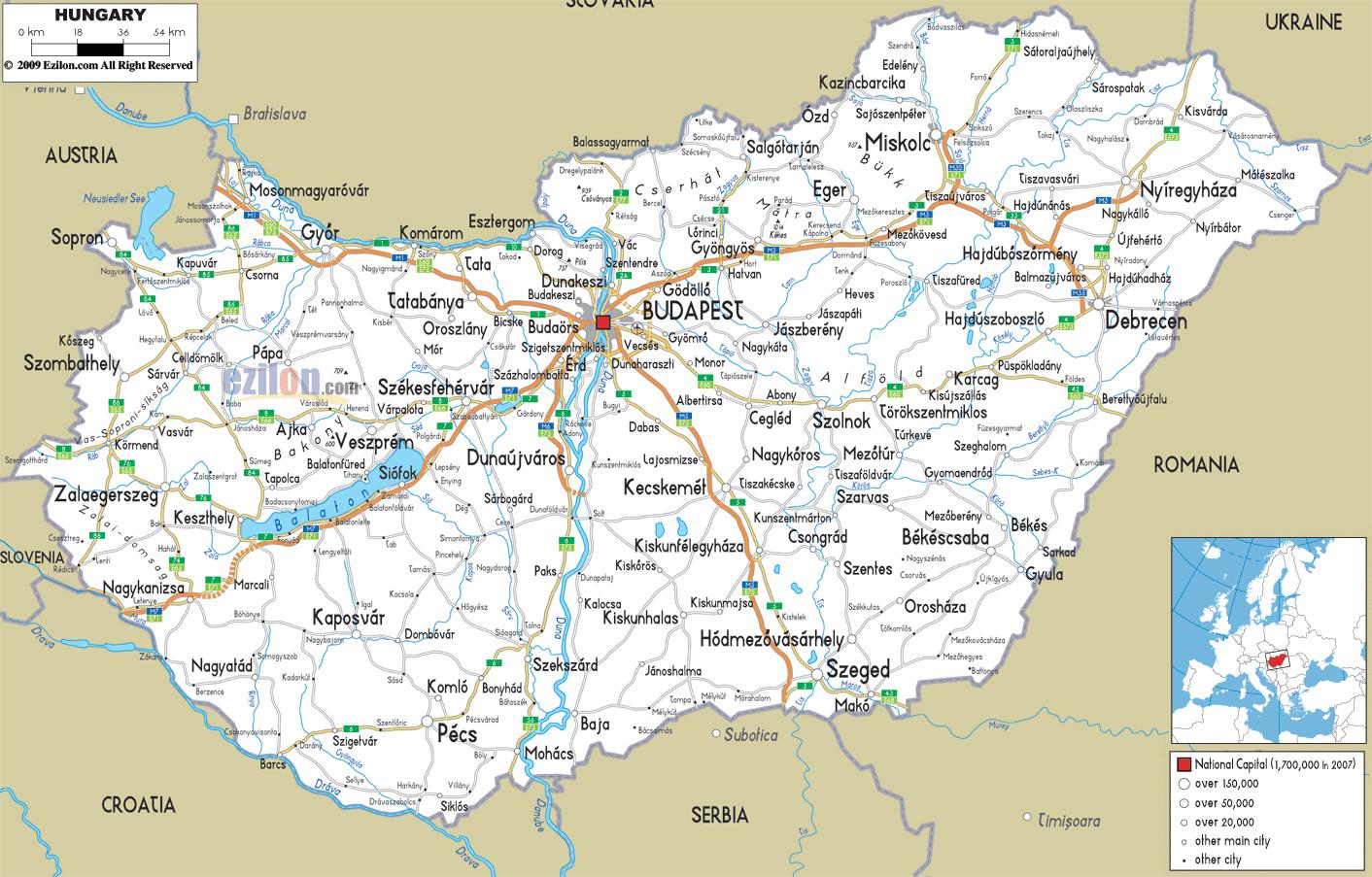 Vízrajzi Térkép